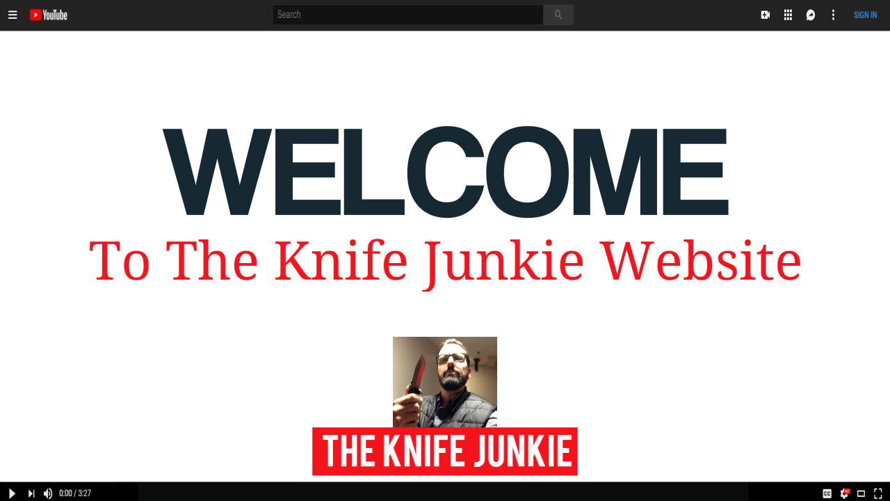 The Knife Junkie Video Thumbnail