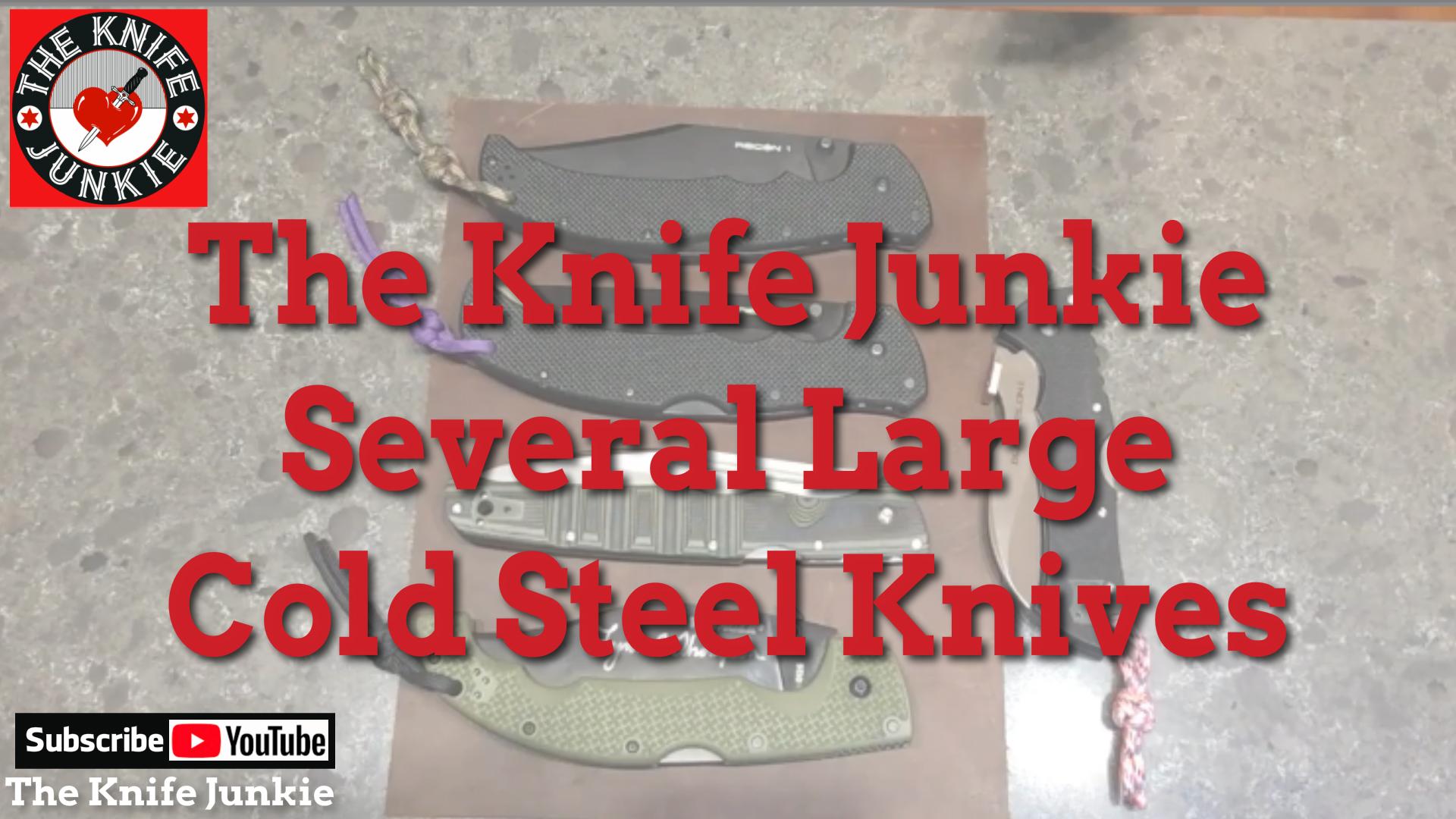 Large Cold Steel Pocket Knives