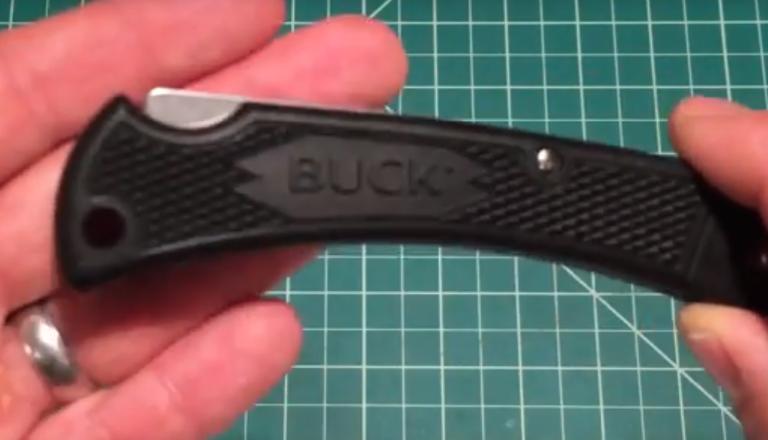 Buck 110 Lightweight folding hunter knife