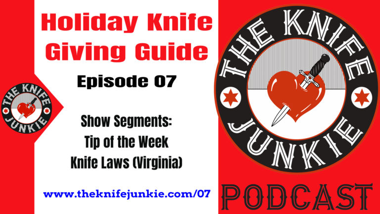The Knife Junkie's 2018 Holiday Knife Giving Guide