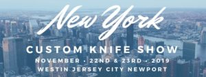 New York Custom Knife Show @ WESTIN JERSEY CITY NEWPORT   Jersey City   New Jersey   United States