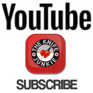 Subscribe to The Knife Junkie on YouTube for knife review videos and more
