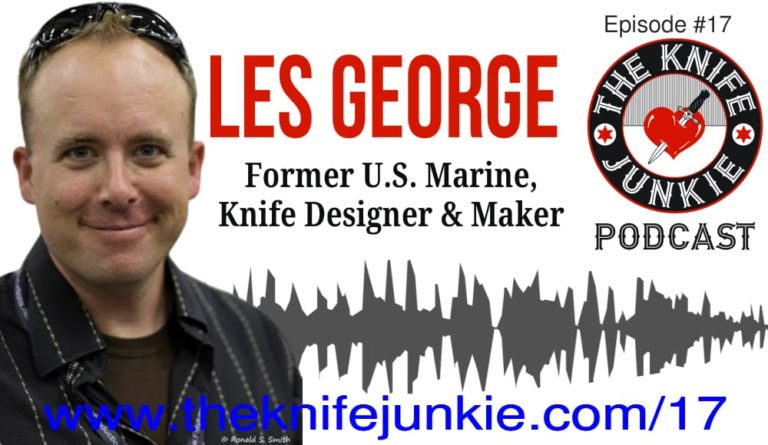Les George on The Knife Junkie Podcast