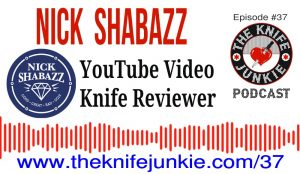 YouTube Video Knife Reviewer Nick Shabazz