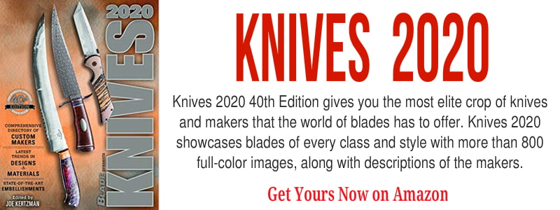 Knives 2020 book, 40th edition