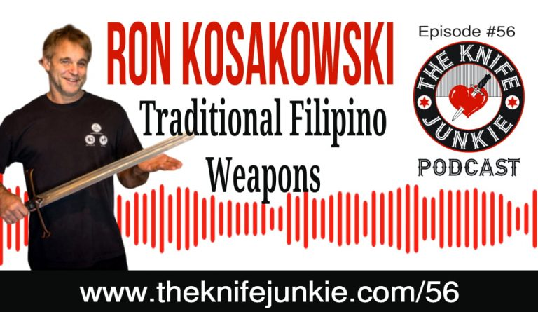 Ron Kosakowski of Traditional Filipino Weapons