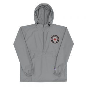 The Knife Junkie Embroidered Champion Packable Jacket