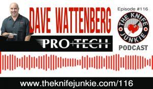 Dave Wattenberg of Pro-Tech Knives [The Knife Junkie Podcast Episode 116]