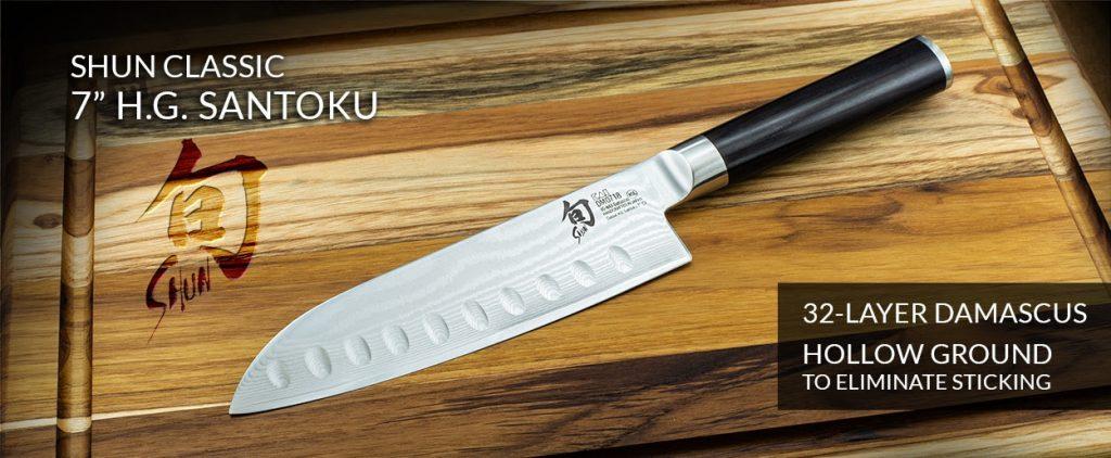 Shun Classic 7 H.G. Santoku