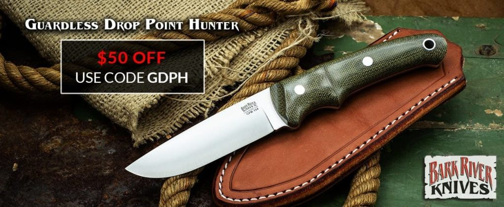 BRK Guardless Drop Point Hunter - $50 OFF