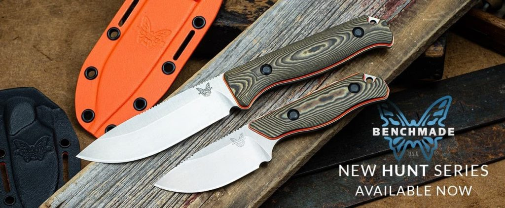 New Benchmade Hunt Series