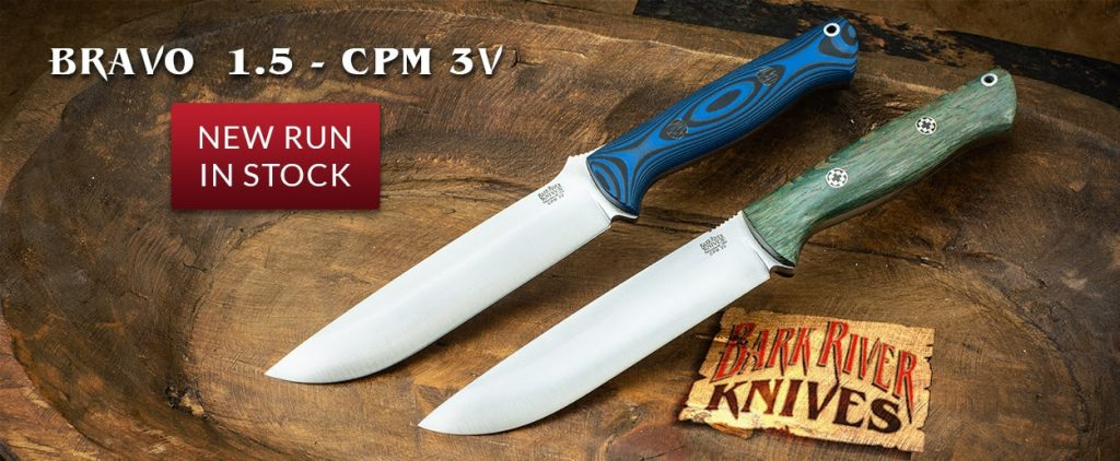 Bark River Knives Bravo 1.5 - CPM 3V