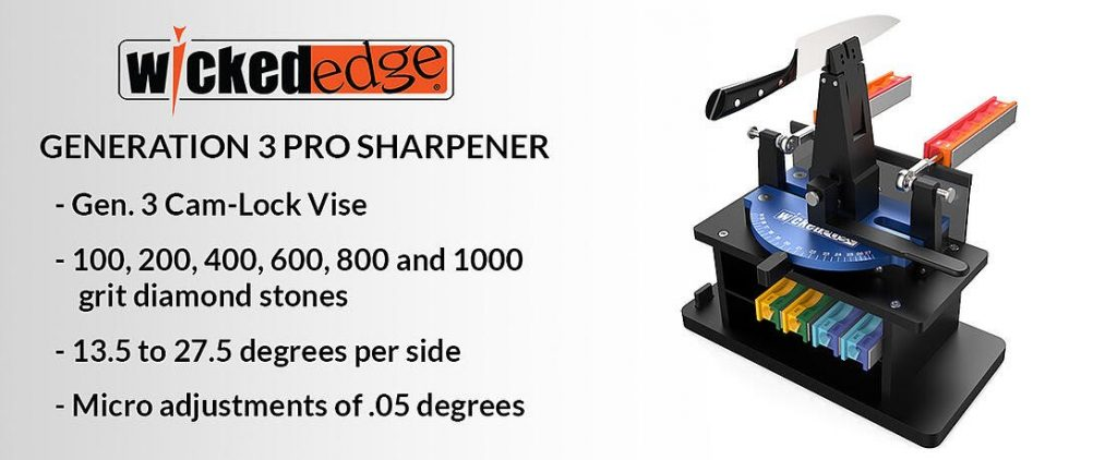 Wicked Edge: Precision Sharpening System - Generation 3 Pro