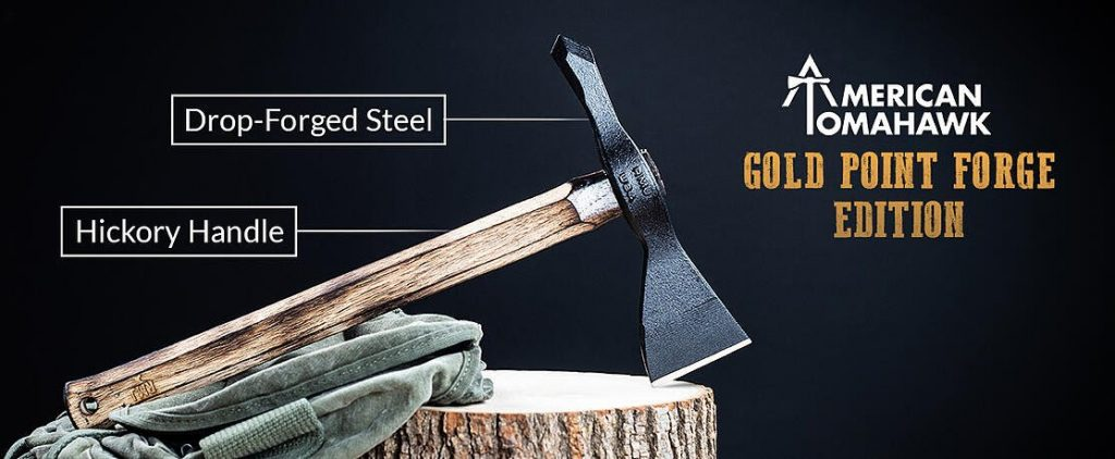 American Tomahawk – Gold Point Forge Edition