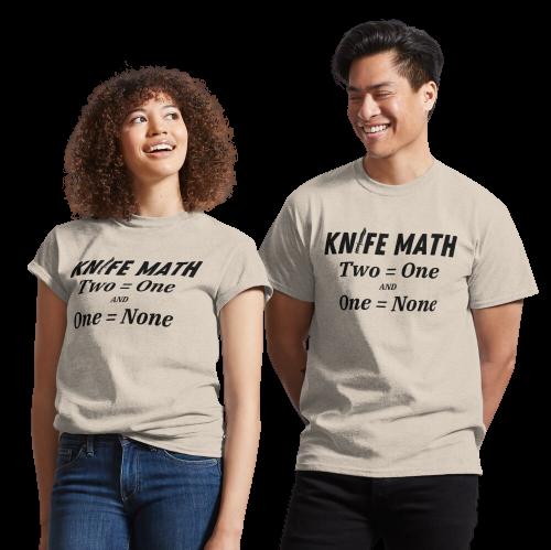 Knife Math T-shirt
