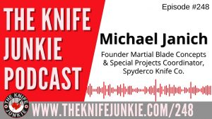 Read more about the article Michael Janich, Martial Blade Concepts Founder and Spyderco Special Projects Coordinator – The Knife Junkie Podcast Episode 248