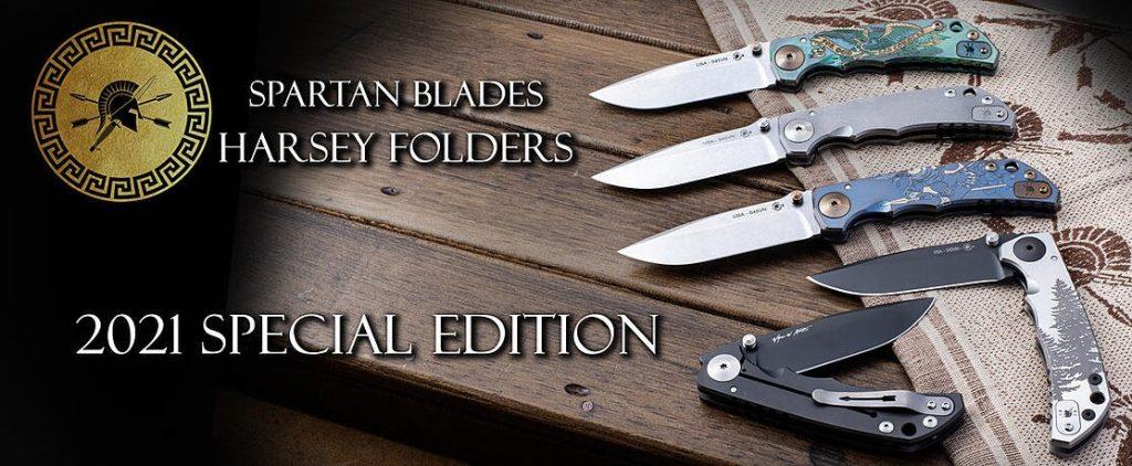 Spartan Harsey Folder - Engravings 2021 special edition