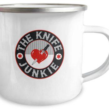 the knife junkie camp mug